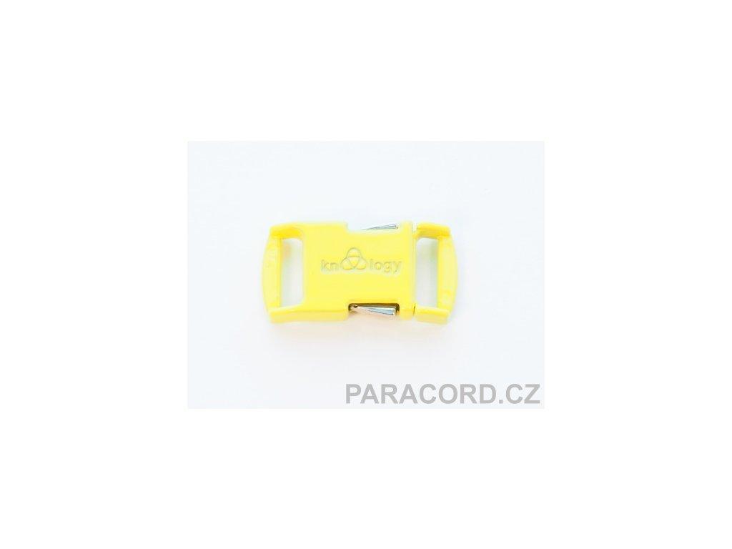 KNOTTOLOGY NITO .5 kovová spona - žlutá