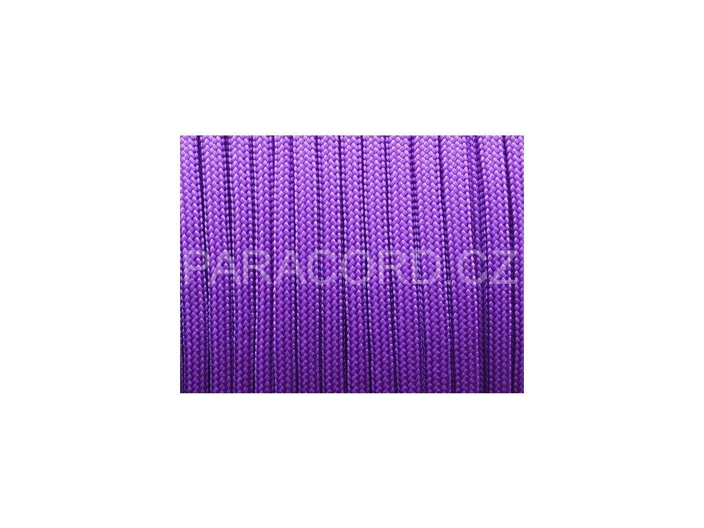 Paracord 550 - neon fialová