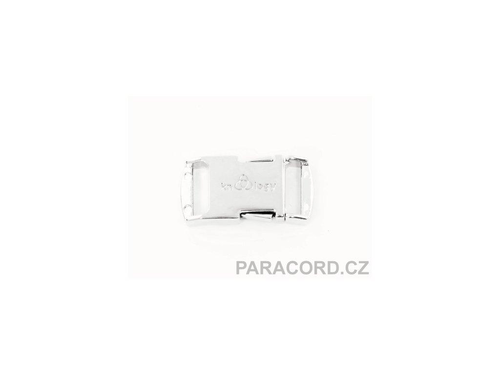 KNOTTOLOGY NITO .5 kovová spona - stříbrná barva