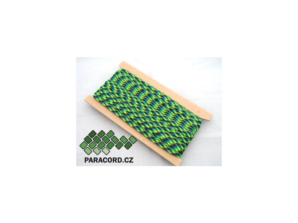 Paracord 550 - karta 25m AQUATICA