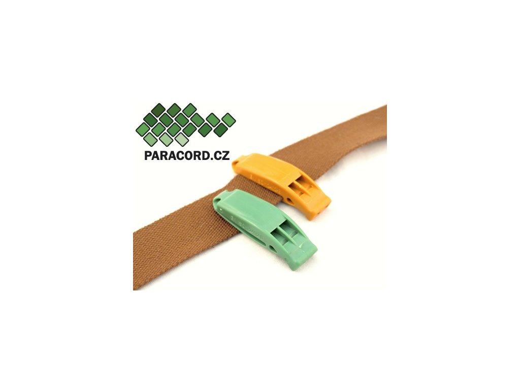 SOS píšťalka zelená