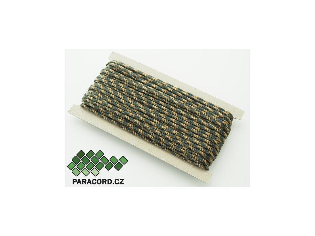 Paracord 550 - karta 25m MARPAT WOODLAND