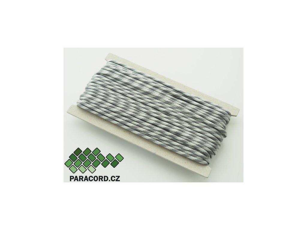 Paracord 550 - karta 25m GREY SCALE
