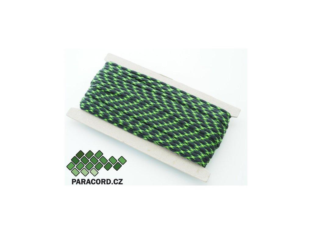 Paracord 550 - karta 25m BIOHAZARD