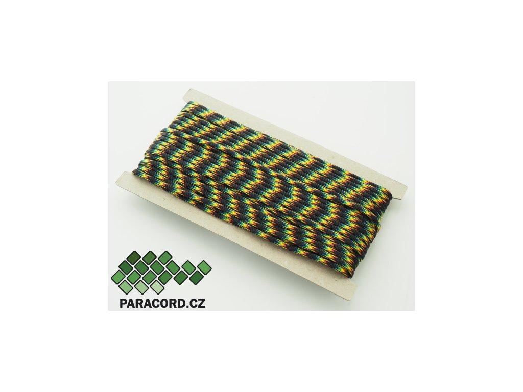 Paracord 550 - karta 25m GALAXIE