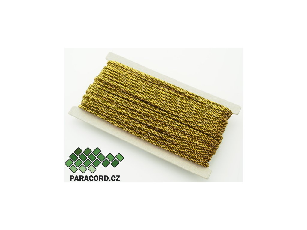 Paracord 550 - karta 25m GOLD DIAMONDS