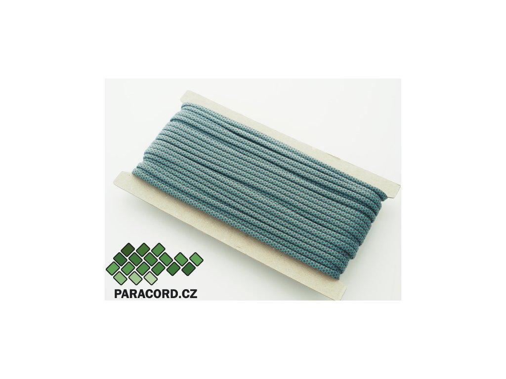Paracord 550 - karta 25m BLUE/BROWN DIAMONDS