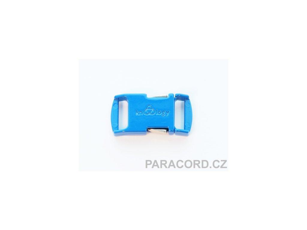 KNOTTOLOGY NITO .5 kovová spona - modrá