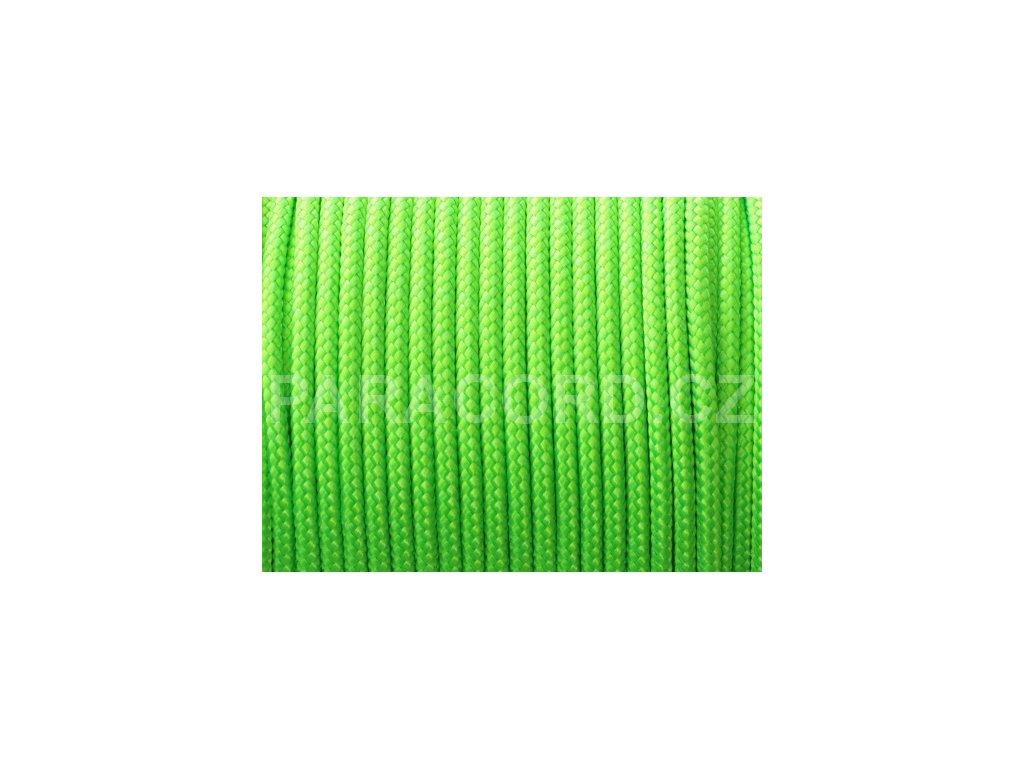 TYP II. Paracord 425 - neon zelená