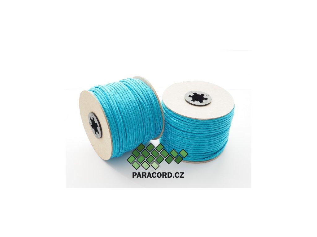 TYP II. Paracord 425 - špulka 50m NEON MODRÁ