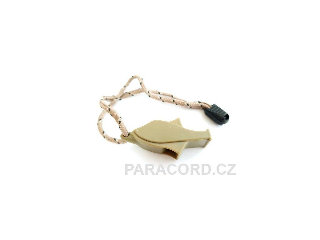 Nouzová píšťalka rybka - oliv