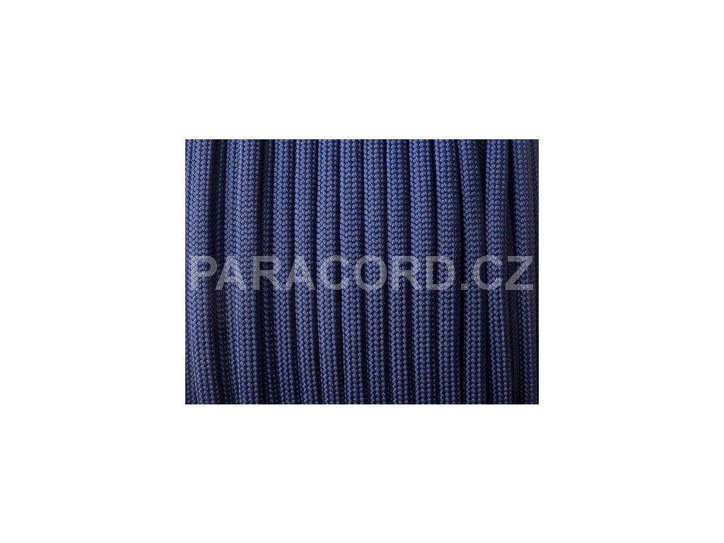 Paracord 550 - půlnoční modrá