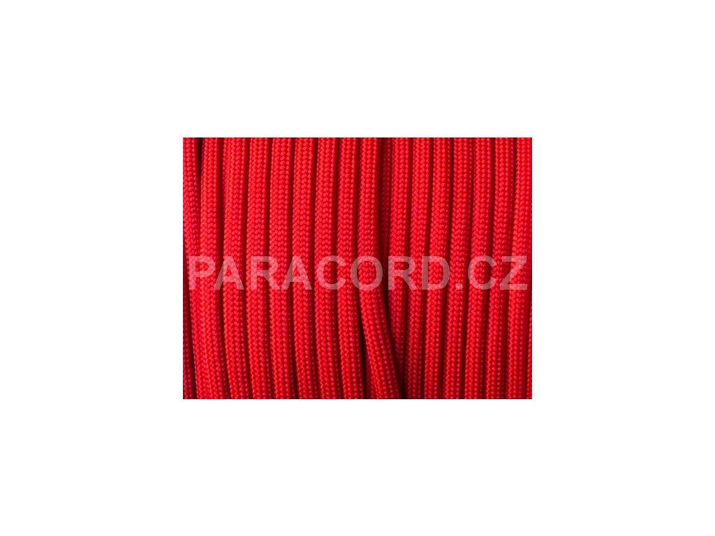 Paracord 550 - imperiální červená