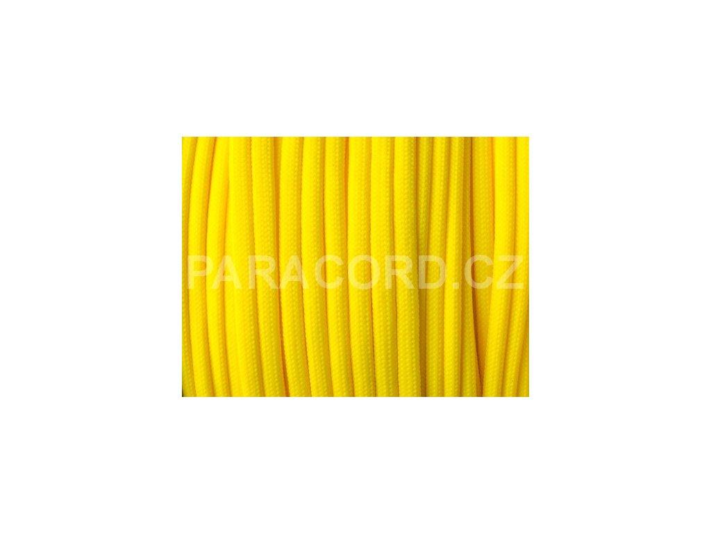Paracord 550 - kanárková žlutá