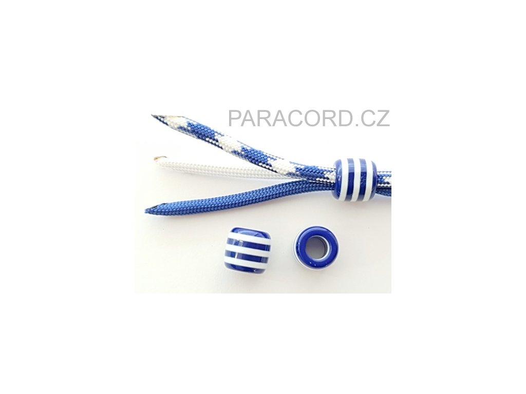 Korálek plastový - navy