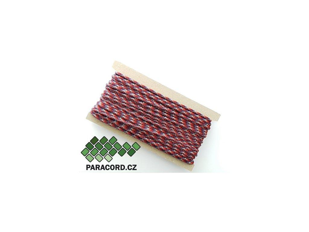 Paracord 550 - karta 25m WILD BERRY