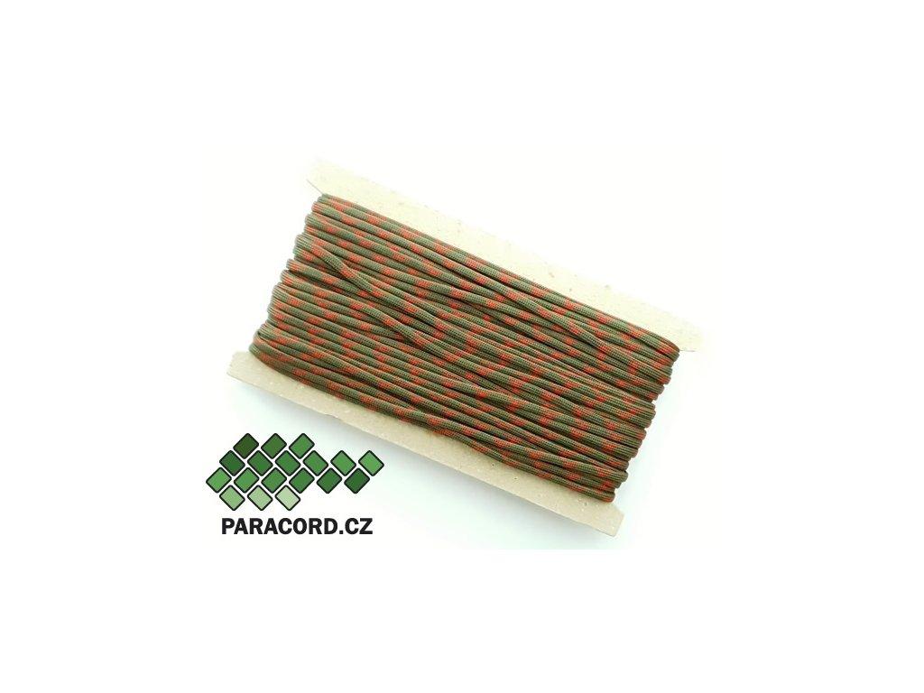 Paracord 550 - karta 25m APOCALYPSE