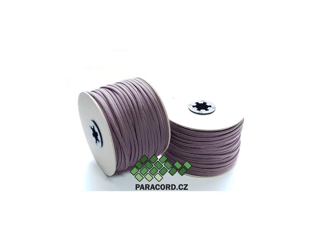 Paracord 550 - špulka 50m PINK STRIPES