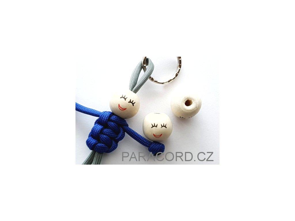 Kulička (korálek) dřevěná - týpek