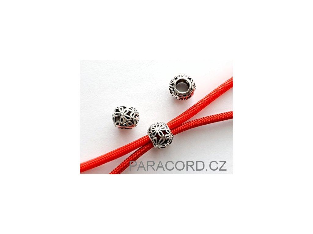Korálek kovový - květiny