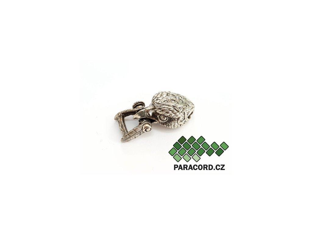 Spona ruční výroba - orel nikl