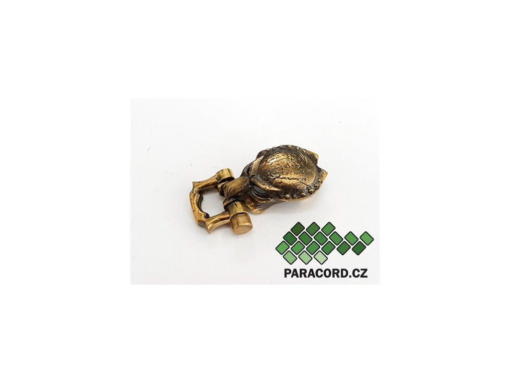 Spona ruční výroba - Predátor bronz