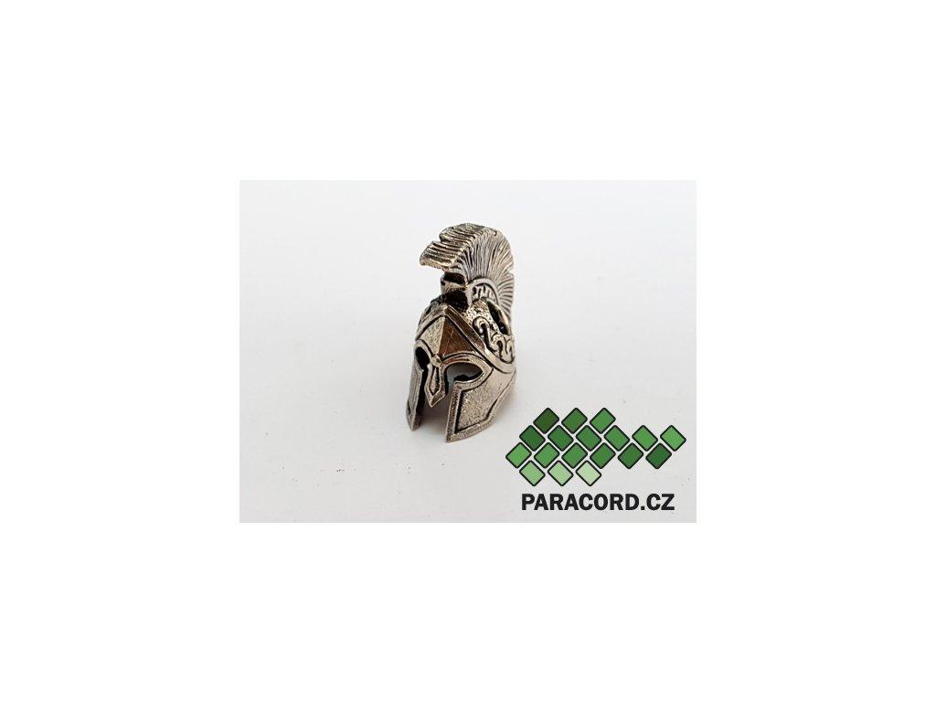 Korálek ruční výroba - Spartan nikl
