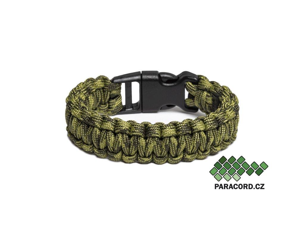 Survival paracord náramek BASIC AMAZONKA