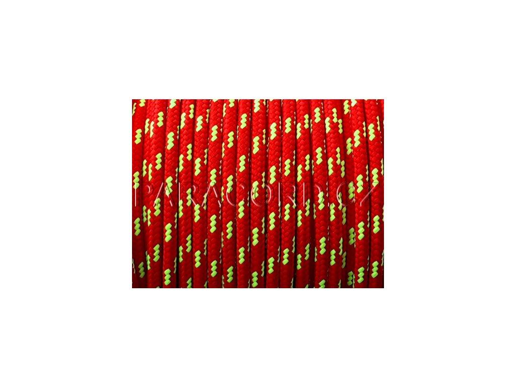 PES lano 5mm - červená