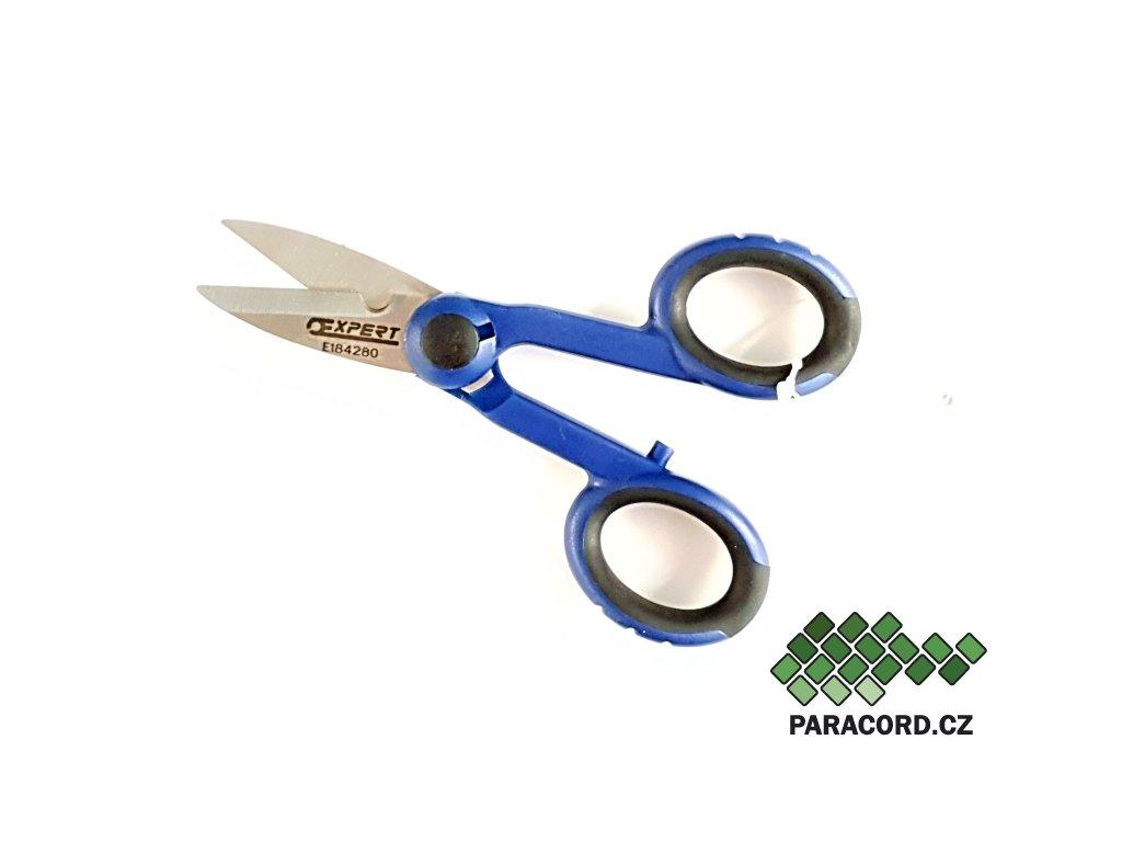 nůžky modré