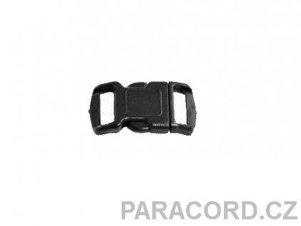 spona trojzubec - černá (10mm)