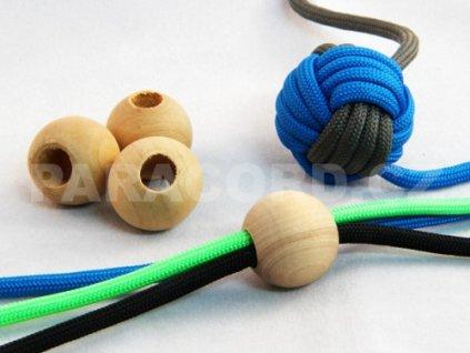 Kulička (korálek) dřevěná - 2cm