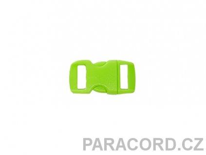 spona trojzubec - zelená (10mm)