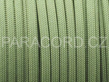 Paracord 550 - mechově zelená