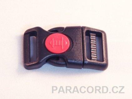 spona trojzubec s pojistkou (20mm)