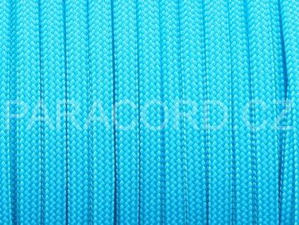 Paracord 550 - neon modrá