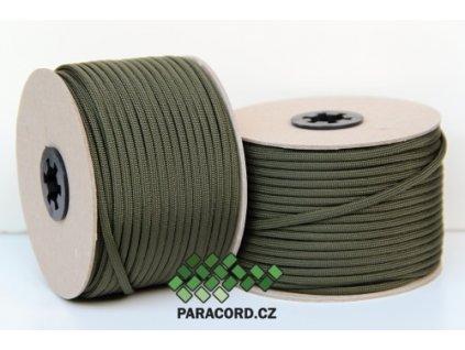 Paracord 550 - špulka 50m OLIV