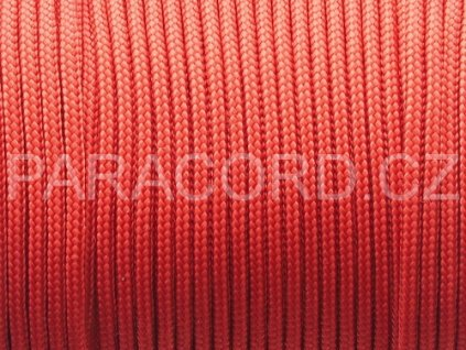 Paracord 100 - červená