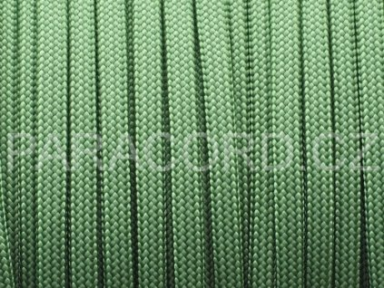 Paracord 550 - tmavě zelená