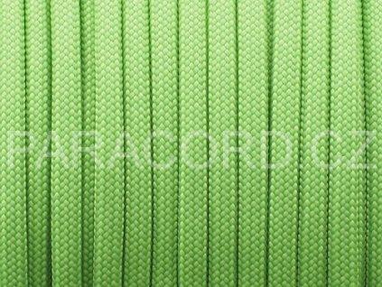 Paracord 550 - světle zelená