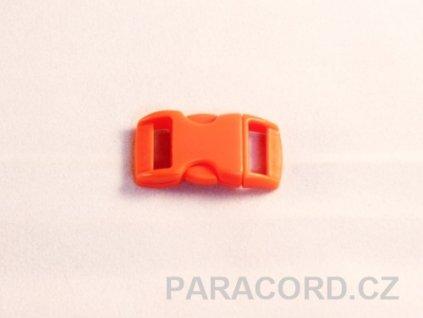 spona trojzubec - oranžová (10mm)
