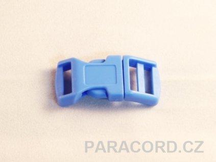 spona trojzubec - světle modrá (13mm)