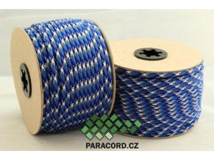 Paracord 550 - špulka 50m BLUE CAMO