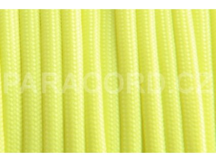 GLOW CORD - žlutá