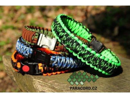 Obojek kobra DOUBLE (vlastní barvy, délka, spona)