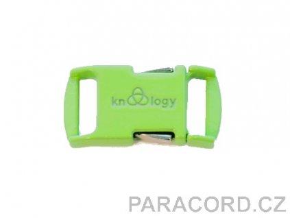 KNOTTOLOGY NITO .5 kovová spona - světle zelená