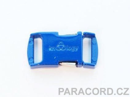 KNOTTOLOGY NITO .5 kovová spona - tmavě modrá
