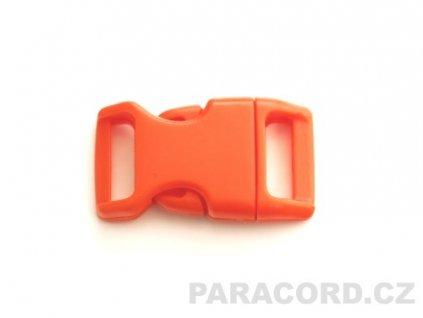 spona trojzubec - oranžová (16mm)