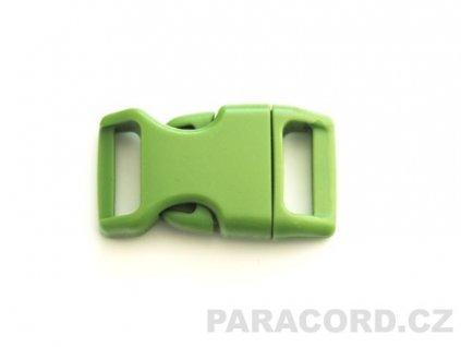 spona trojzubec - zelená (16mm)