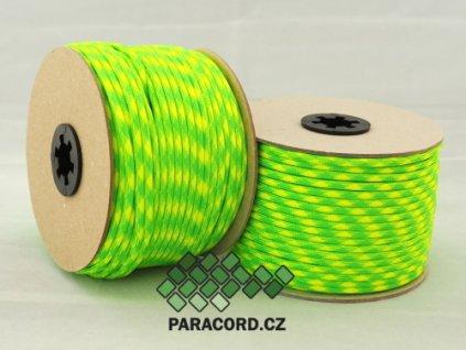 Paracord 550 - špulka 50m LIMETKA